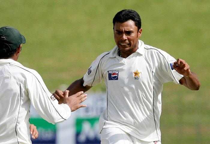 Pakistan's Danish Kaneria. (Reuters Photo)