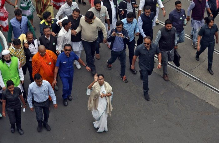 Mamata Banerjee, the Chief Minister of West Bengal. (Reuters Photo)