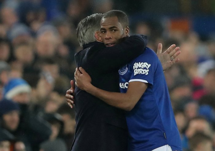 Everton manager Carlo Ancelotti. (Reuters Photo)