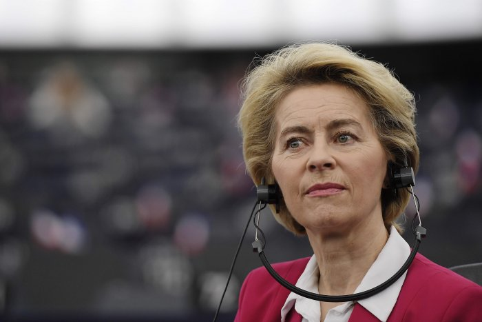 European Commission President Ursula von der Leyen. (AFP Photo)