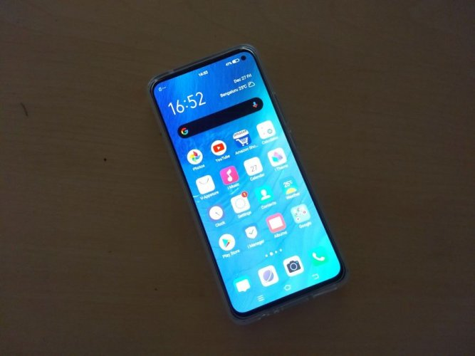 The Vivo V17. Picture credit: DH Photo