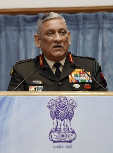 Army chief General Bipin Rawat. (PTI Photo)
