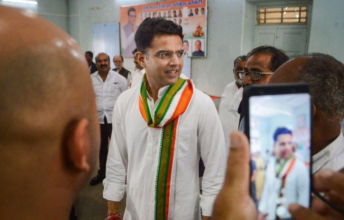 Rajasthan Pradesh Congress Committee chief and Deputy Chief Minister Sachin Pilot. (PTI Photo)