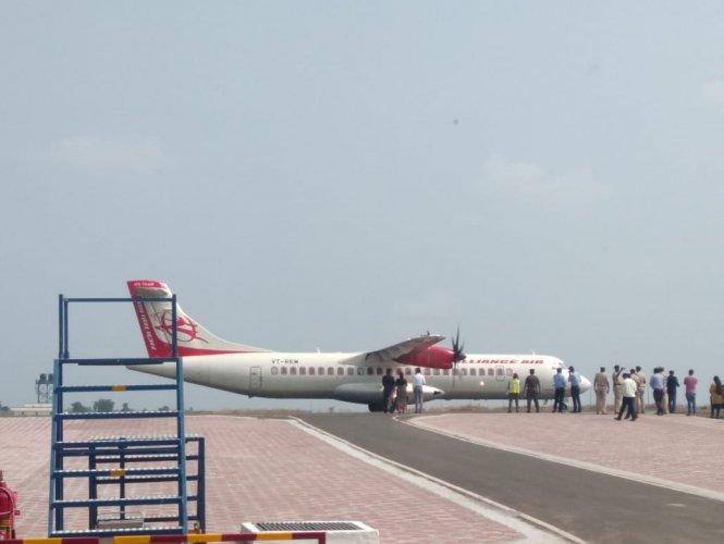 Alliance Air will operate daily flights in the Mysuru-Bengaluru-Kalaburagi sector. (DH Photo)