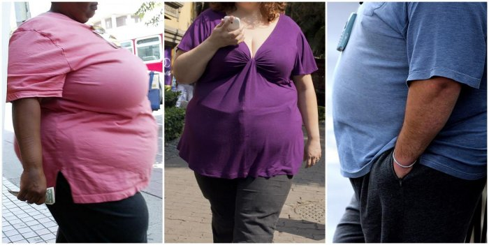 Obese or overweight people may now have higher chances of battling with cancer successfully, according to a study. (AFP Photo)