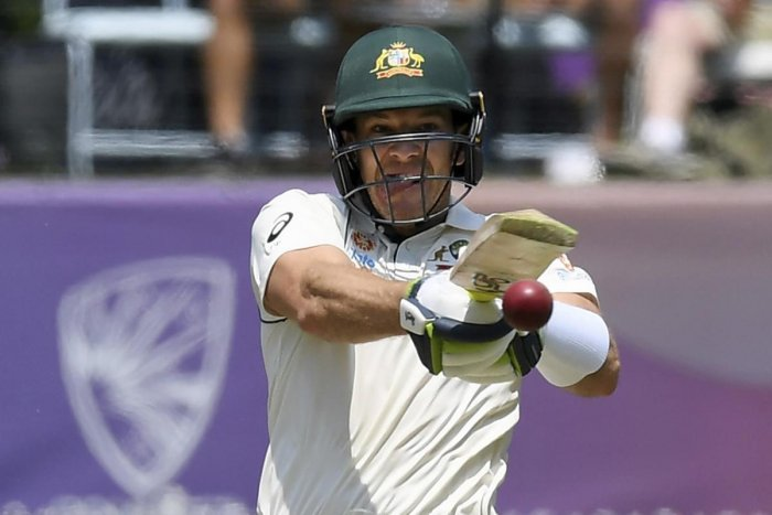Australia's Tim Paine bats against New Zealand during play in their cricket test match in Melbourne, Australia. (AP/PTI Photo)