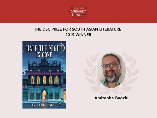 DSC Prize for South Asian Literature winner, Amitabha Bagchi. (@thedscprize/twitter)