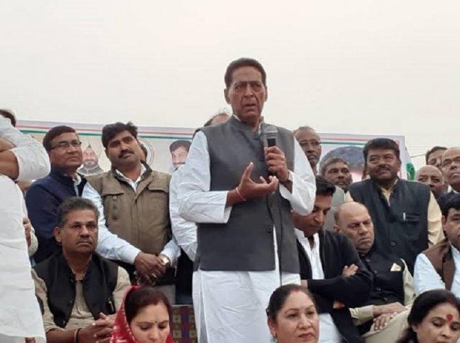 Delhi Congress president Subhash Chopra. (File Photo)