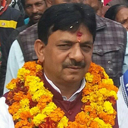 Uttar Pradesh BJP minister Kapil Dev Agarwal (Twitter @kapildevagarwa1)