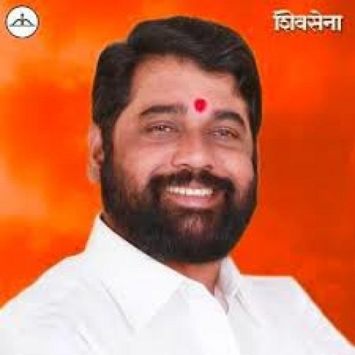 Maharashtra Home Minister Eknath Shinde (DH Photo)