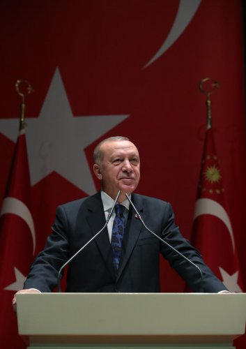 Turkish Prime minister Recep Tayyip Erdogan. (AFP Photo)