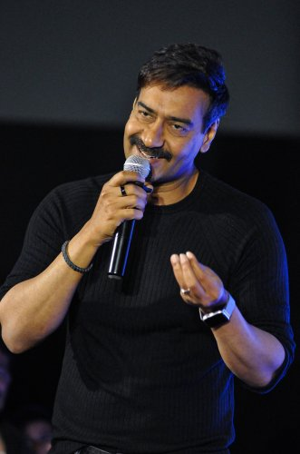 Bollywood actor Ajay Devgn (PTI Photo)
