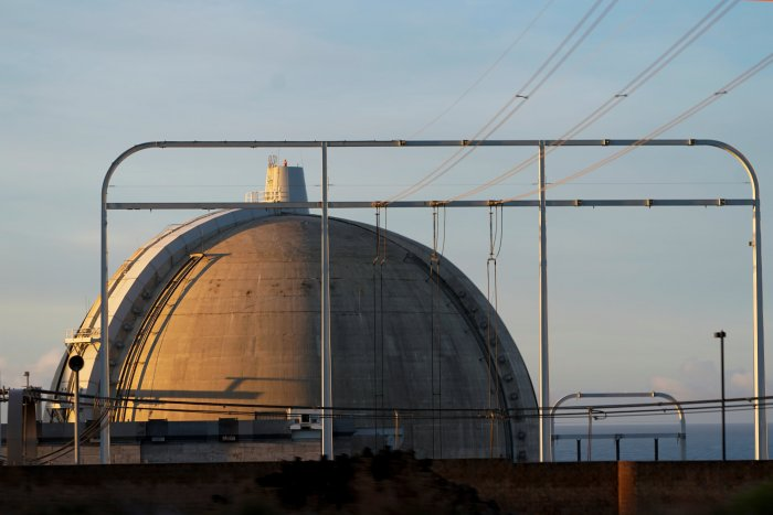 The shutdown will take only a few hours to complete. In 2020 Philippsburg 2's two cooling towers will be knocked down, kicking off demolition work that will take 10 to 15 years to complete. (Reuters Photo)