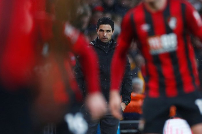 Arsenal manager Mikel Arteta. (Reuters Photo)