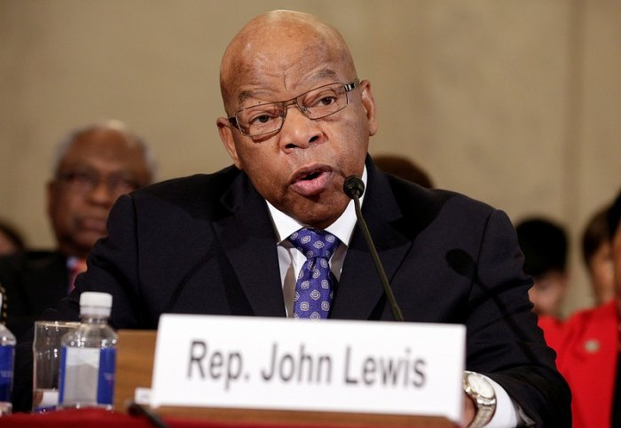 John Lewis (D-GA) testifies to the Senate Judiciary Committee during the second day of confirmation hearings on Senator Jeff Sessions' (R-AL) nomination to be U.S. attorney general in Washington. (Reuters Photo)