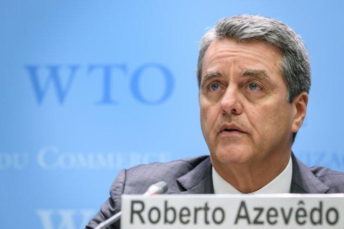 World Trade Organisation head- Roberto Azevedo (AFP Photo)