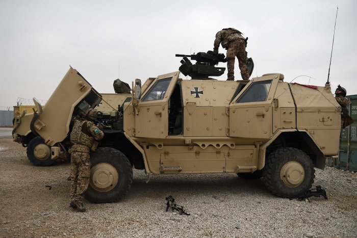 At least seven Afghan soldiers were killed when the Taliban attacked their base. (AFP Photo)