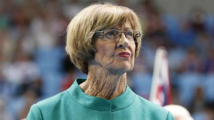 24-time Grand Slam singles winner, Margaret Court. (DH File Photo)