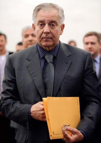 former prime minister Ivo Sanader