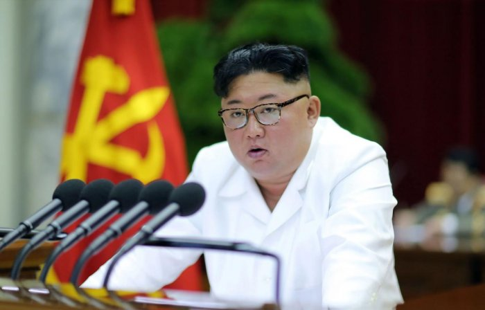 Kim convened a weekend meeting of top Workers' Party officials to discuss policy matters amid rising tension over his deadline for Washington to soften its stance in stalled negotiations aimed at dismantling Pyongyang's nuclear and missile programmes. Photo/AFP