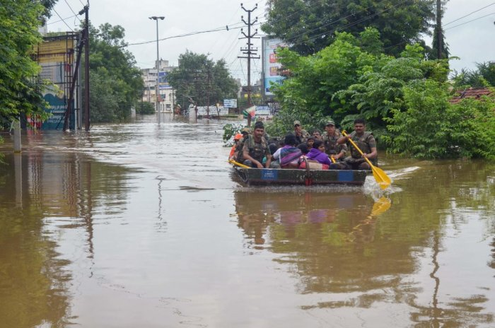 Nearly 62 people were killed in floods and rain-related incidents in Pune division, which comprises Pune, Solapur, Satara, Sangli and Kolhapur districts, according to official figures. Photo/AFP
