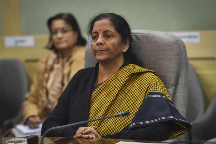 Finance Minister Nirmala Sitharaman assured that honest commercial decisions taken by bankers would be protected and that the government has decided to take measures to assuage concerns over harassment by investigative agencies. Photo/PTI