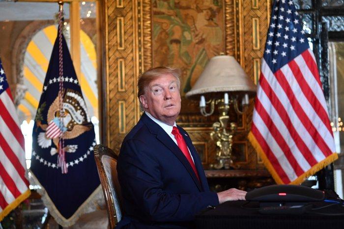US President Donald Trump. (AFP Photo)