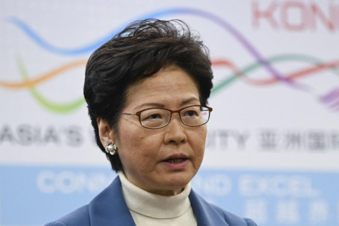 Hong Kong's Chief Executive Carrie Lam. (AFP file photo)
