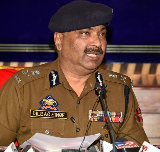 The DGP said the scrapping of Article 370 was the biggest challenge faced by his force in 2019. PTI file photo