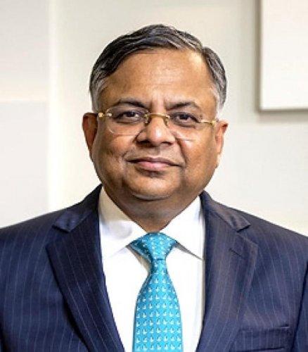 Tata Sons chairman N Chandrasekaran. (PTI photo)