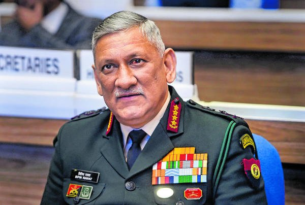 India's first Chief of the Defence Staff General Bipin Rawat. (PTI photo)
