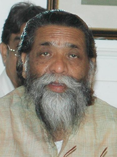 Only smiling former chief minister is Shibu Soren, who served the state for three terms, as his son Hemant sits on the hot-seat for a second time. (File Photo)