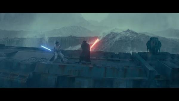 A still from 'Star Wars: The Rise of Skywalker'.