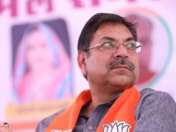 Rajasthan BJP chief Satish Poonia (DH Photo)