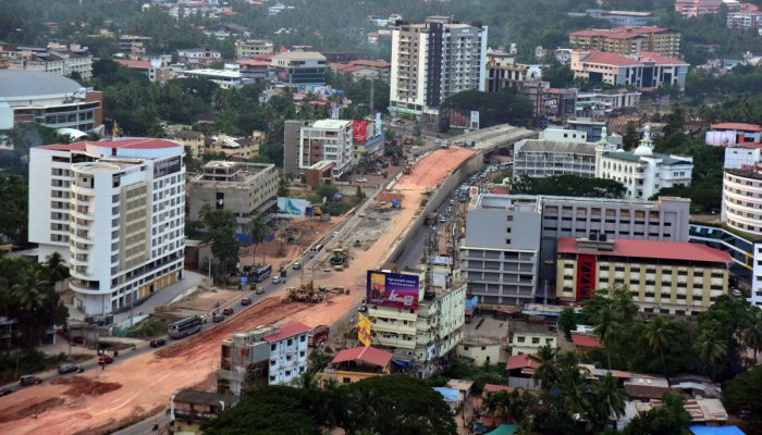 Work on the flyover at Pumpwell Circle, Mangaluru, is likely to be completed in 15 to 20 days.