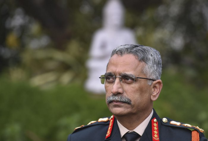 New Army Chief General Manoj Mukund Naravane during an intervew with PTI, in New Delhi, Tuesday, Dec. 31, 2019. (PTI Photo)