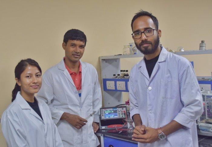The research team of IIT Guwahati. (Photo credit: IIT Guwahati)