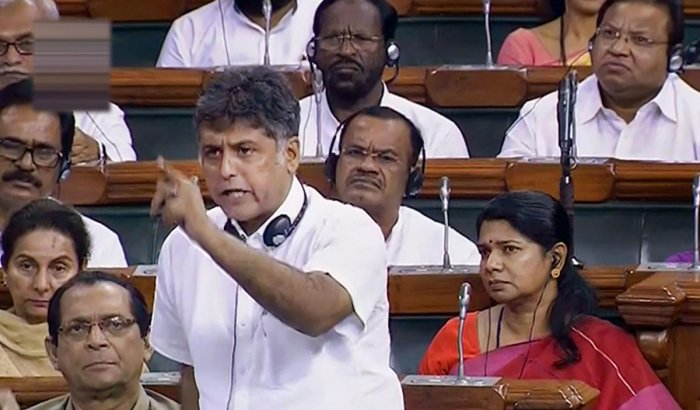 """Senior Congress leader Manish Tewari claimed that the government had started on the """"wrong foot"""" on the appointment of the CDS and only time will reveal the implication of the decision. PTI file photo"""