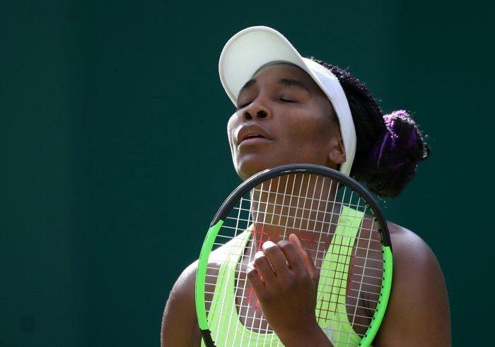 Venus Williams. (Reuters Photo)
