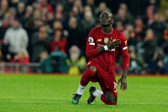 Liverpool's Sadio Mane. (Reuters Photo)