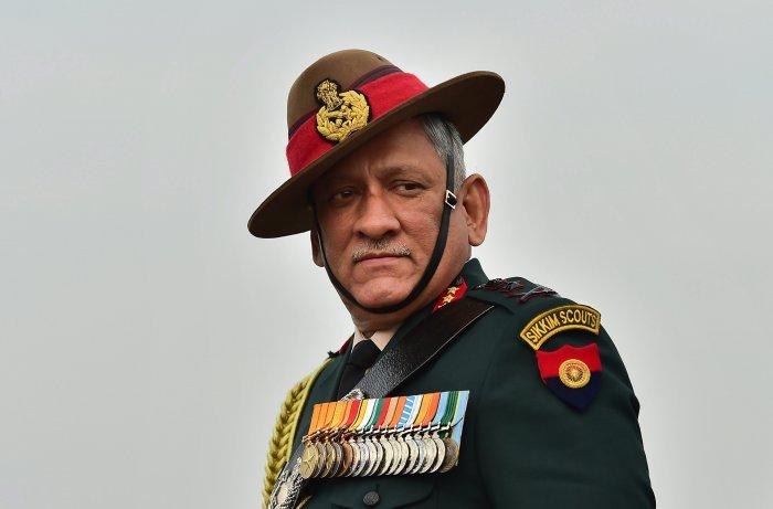 Army Chief General Bipin Rawat. (File Photo)