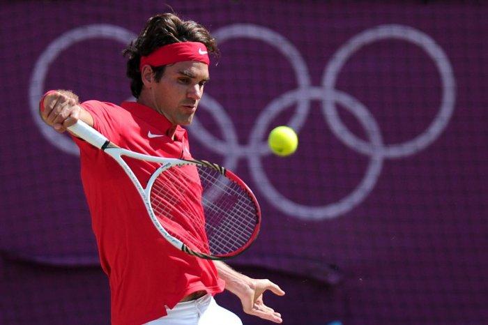 Roger Federer. AFP Photo
