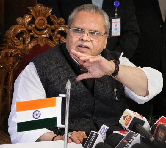 When asked whether the BJP-led state government has spoken to him on the issue, Malik replied in the negative. PTI file photo