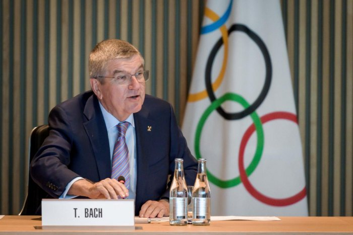 Olympic chief Thomas Bach. (AFP file photo)