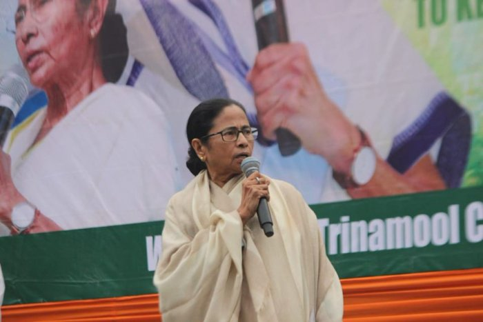 The TMC was founded by Mamata Banerjee on January 1, 1998 with an aim to oust the then Left Front regime from power. Photo/Twitter (@AITCofficial)