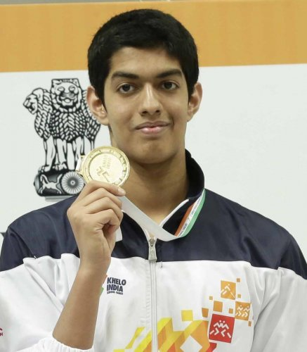Srihari Nataraj, who holds the national record in 50m backstroke, 100m backstroke and 200m backstroke, said his immediate aim is to book a berth in the Tokyo Olympics. DH Photo