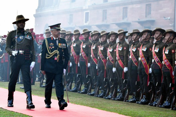 """""""I am sure that the situation will prevail. And by maintaining peace and tranquillity along the borders, we will be able to set the stage for an eventual solution,"""" Army Chief Gen M M Naravane said."""