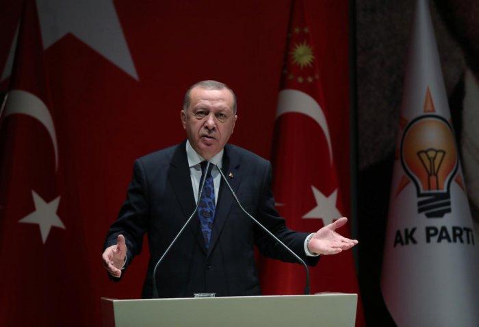 Turkish President Tayyip Erdogan. (Reuters file photo)