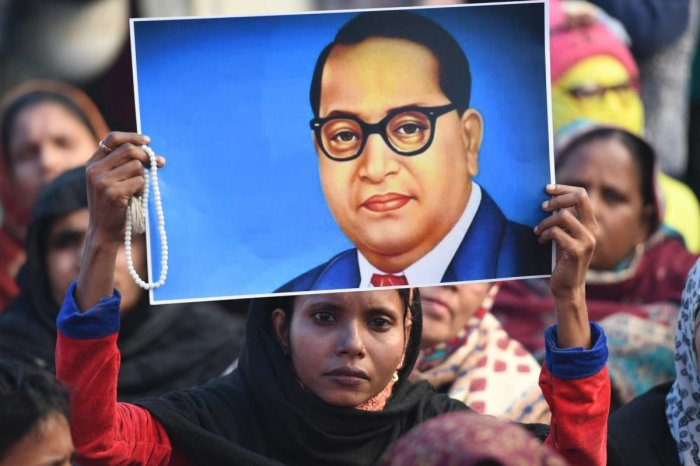April 14 is the birth anniversary of Ambedkar, the Dalit icon and architect of the Constitution. (AFP photo)