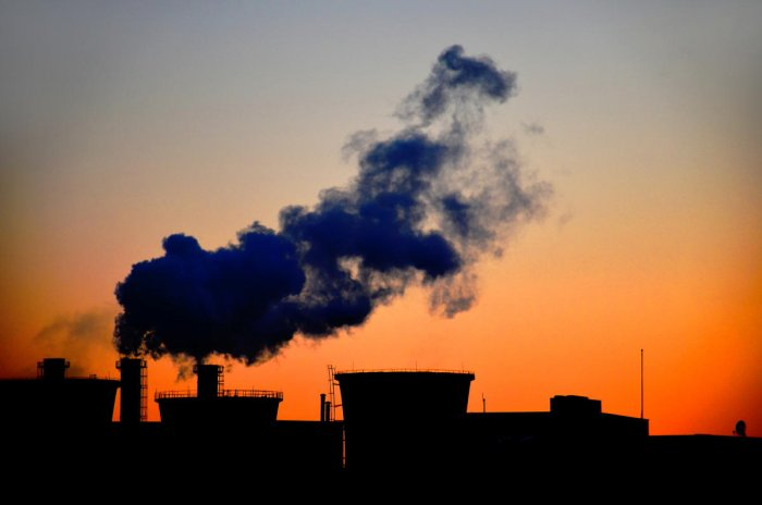 Pollution, Wind, Greenhouse Gas, Smog, Factory